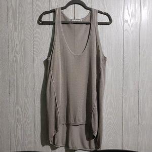 Zara Knit Sheer Tank Top